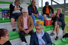 20 Mai 2018.Tribune Paul Robbe Pontarlier.Les supporters avant match _123752 (2)