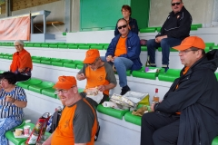 20 Mai 2018.Tribune Paul Robbe Pontarlier.Les supporters avant match _123752 (3)