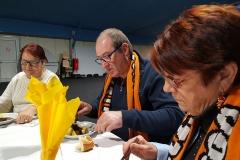 Innauguration Club XV Alain CORDIER 26-11-2017- Le 16 TANGO représenté par son Président et sa Trésorière_130946