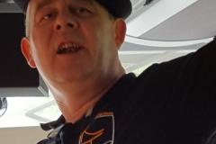 Chateaurenard 24 Juin 2018. Dans le bus du 16 Tango à l'aller.Franck à la répétition des chansons des Tangos _113912 (12)